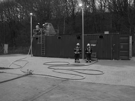 Brandübungscontainer 2019