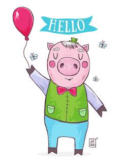 Hello pigy