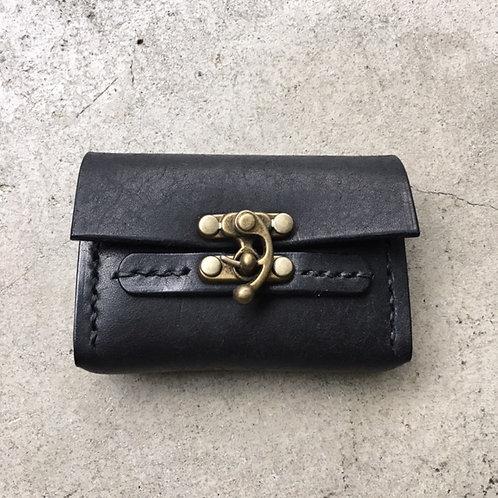keis roux カードケース ブラック