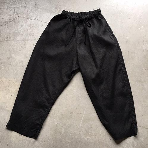 大麻パンツ 黒 サイズ2