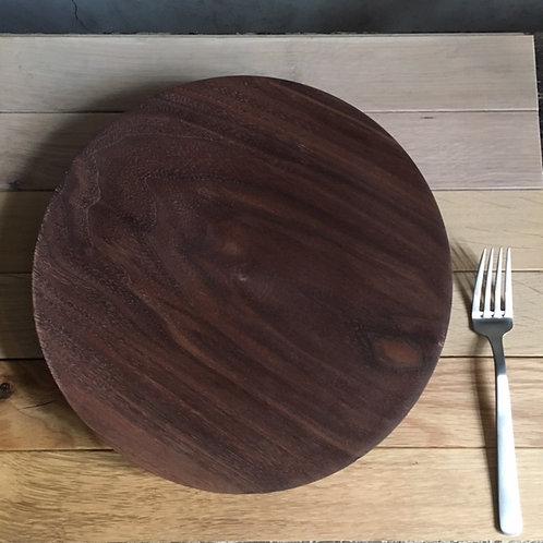 木の器 ウォルナット大皿