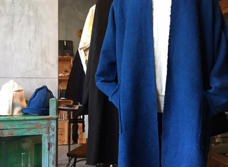 MITTAN OCガラ紡ロングジャケット