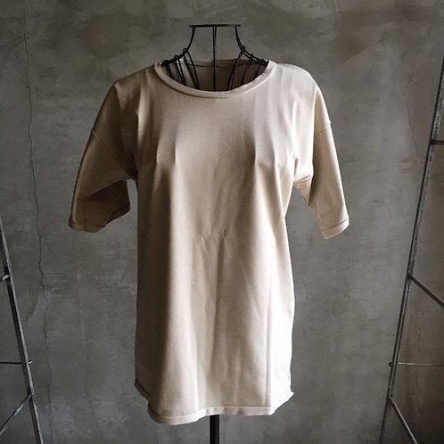 suvin半袖平面T 薄灰 サイズ3