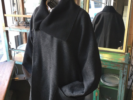 MITTAN ウールシルクリバージャケット・裏絹紬表綿高密度シャツ他 入荷のお知らせ
