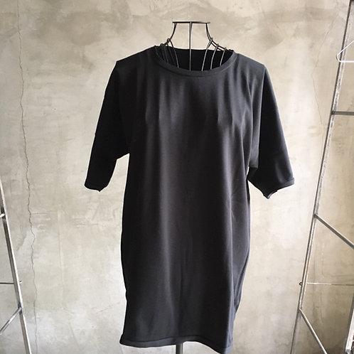 suvin半袖平面T 黒 サイズ2