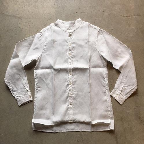 大麻シャツ 白 サイズ2