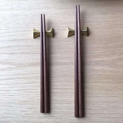 無垢の箸 (M)クルミ