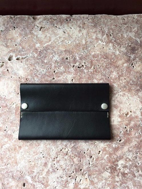 ポケットティッシュケース ブラック