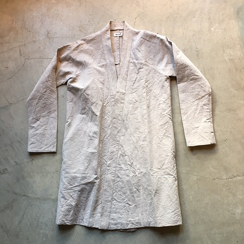 ロングジャケット 白茶 サイズ1