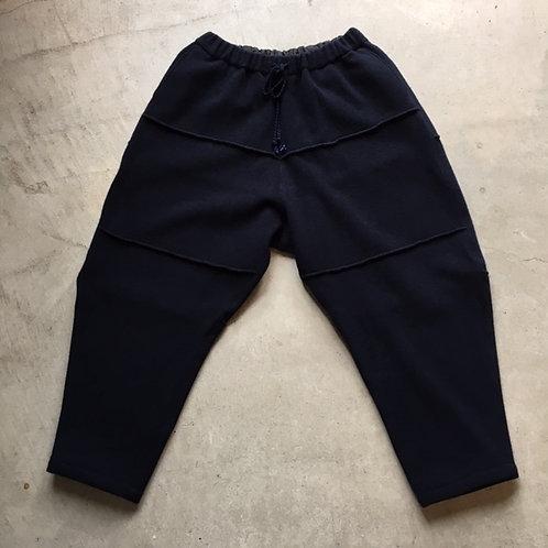 ウールブランケットパンツ 濃紺 サイズ1