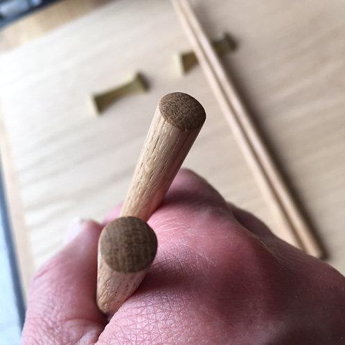 無垢の箸 (L) ナラ