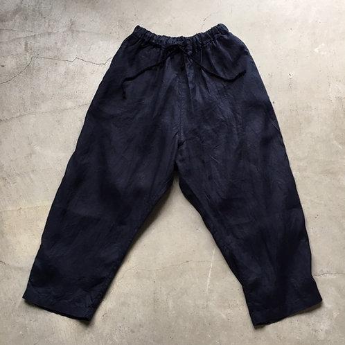 大麻パンツ 濃紺 サイズ2