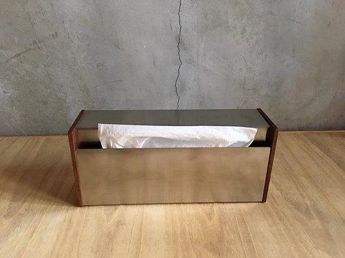 ティッシュボックス ウォルナット