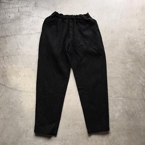 亜麻苧麻ロング 黒 サイズ1
