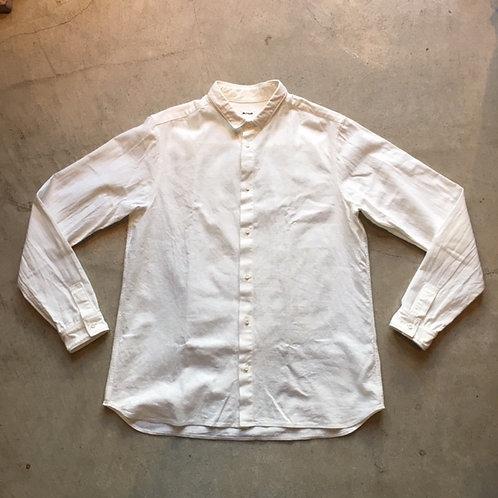 岡崎木綿シャツ 白 サイズ4