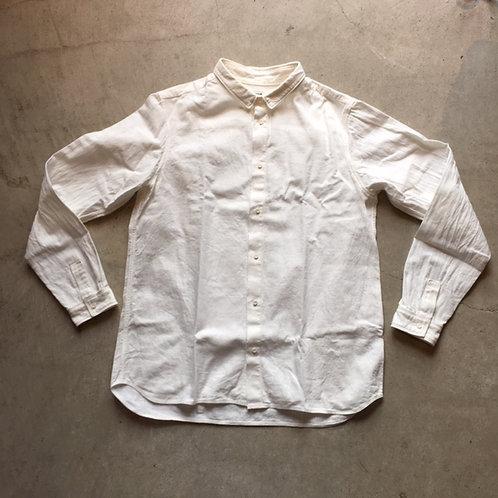 岡崎木綿シャツ 白 サイズ3
