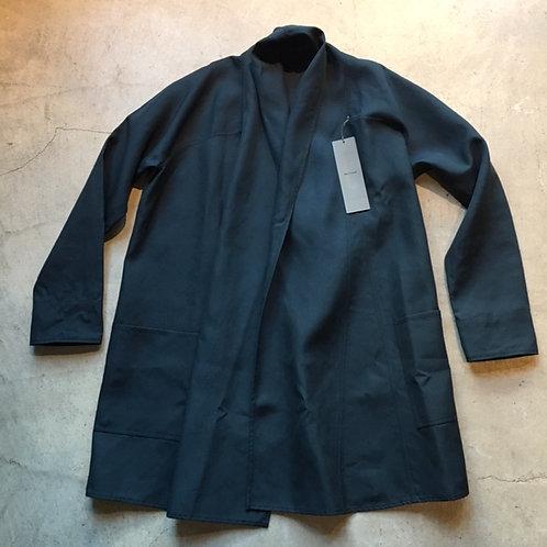 シルクロングシャツ(厚手)黒 サイズ2