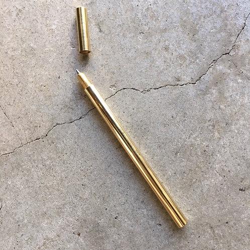 Metallic Ballpoint Pen /Brass