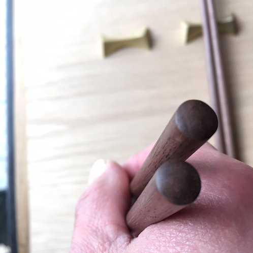 無垢の箸 (L)クルミ