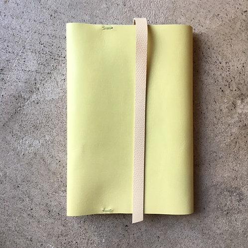 Bookcover 2tone (L-lemon x ivory)