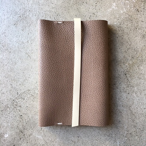 Bookcover 2tone (beige x ivory)