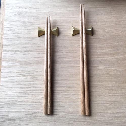 無垢の箸 (M) ナラ