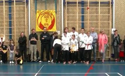 Martial art day Spijkenisse april 2017  was een succes.