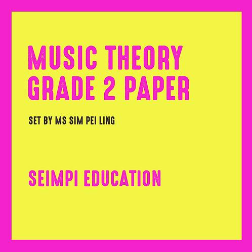 Seimpi Theory Paper Grade 2