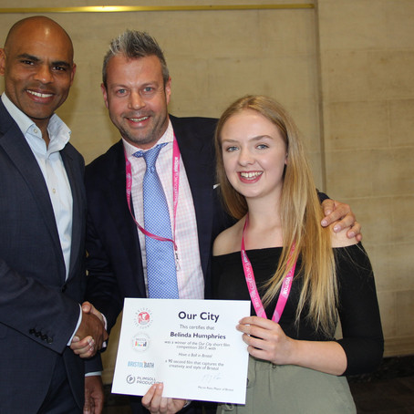 Congratulations to boomsatsuma student on city-wide Mayoral competition win!