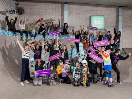 International Women's Day: boomsatsuma + Campus Skate Park