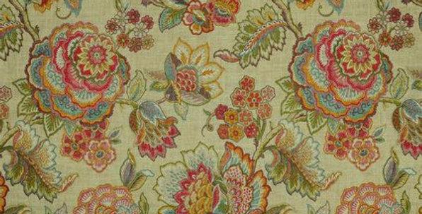 Summer Linen Modern Floral