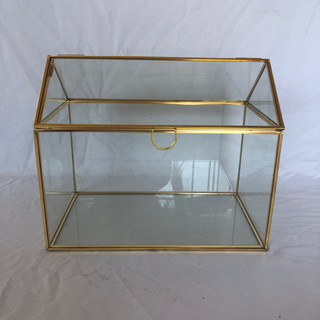 Card Box Gold Square
