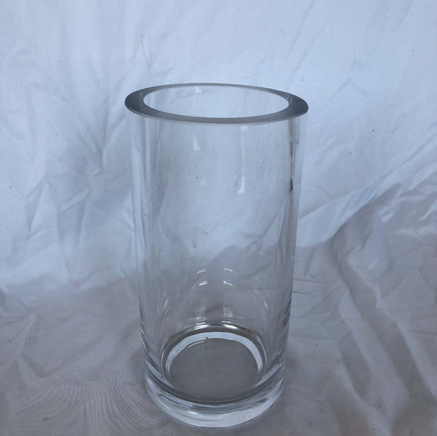 Thick Glass Vase