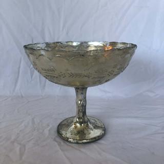 Silver Antique Compote