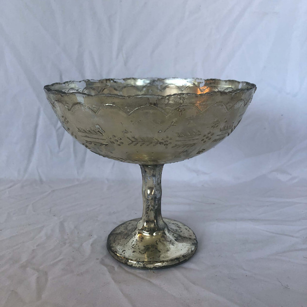 Silver Antique Compote