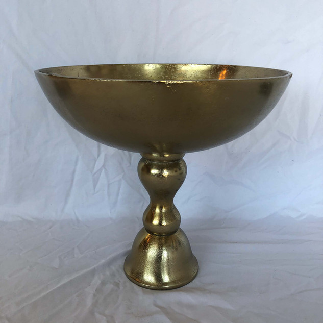 Gold Dorado Compote Tall