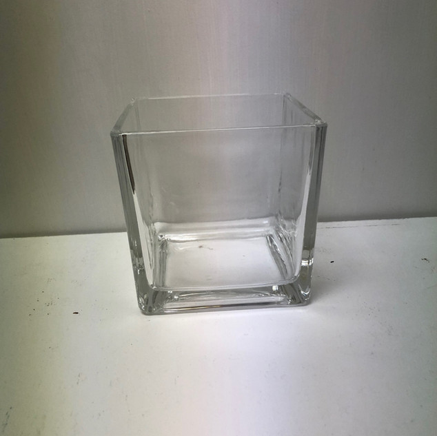 Clear Glass Square