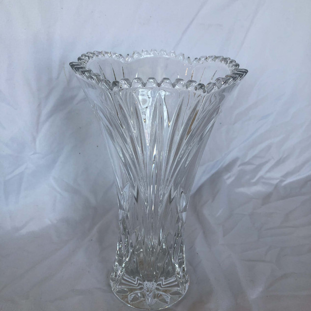 Glass Crystal Vase