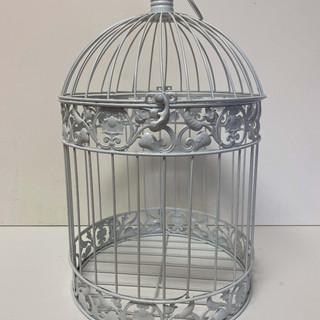 Card Box White Birdcage