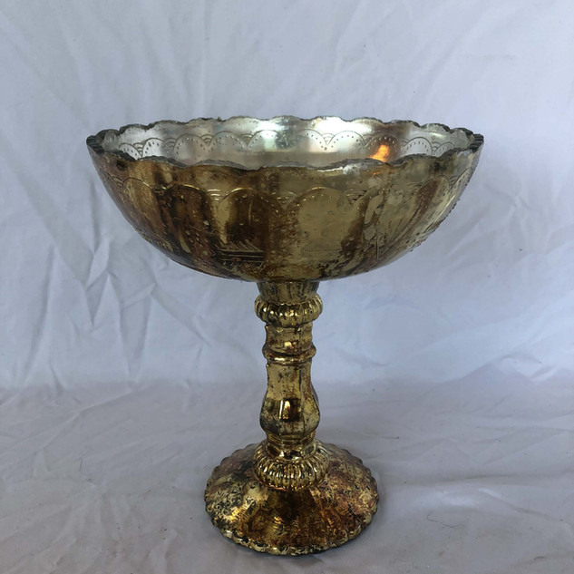Gold Antique Compote