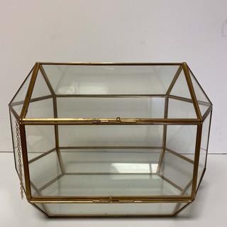 Card Box Gold Prism