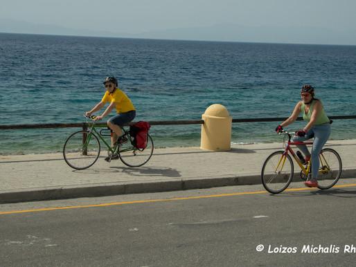 Ποδηλατάδα στους δρόμους της Ρόδου!