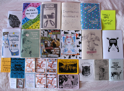 Sazman/Queer ink - Zine workshop