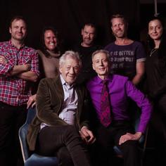 London crew filming  interviews with Ian  McKellen and Peter Tatchell © WildBear Entertainment  Photographer - Ali Pares   @Netflix @NetflixFilm @Most @TatchellMovie