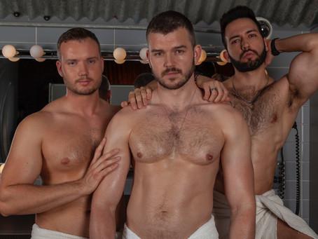 Pleasuredrome Men: David Cornelius Simancas &  Nick Bolton