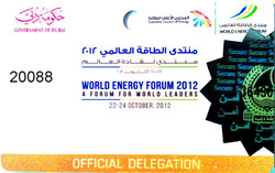 World energy forum Dubai