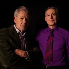 Peter Tatchell and Ian McKellen © WildBear Entertainment  Photographer - Ali Pares   @Netflix @NetflixFilm @Most @TatchellMovie