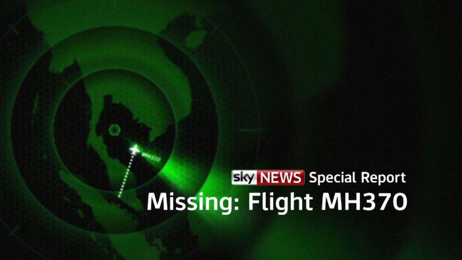 Sky News Special Report MH370