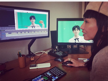 Video editing : Interpreting Mandarin to English