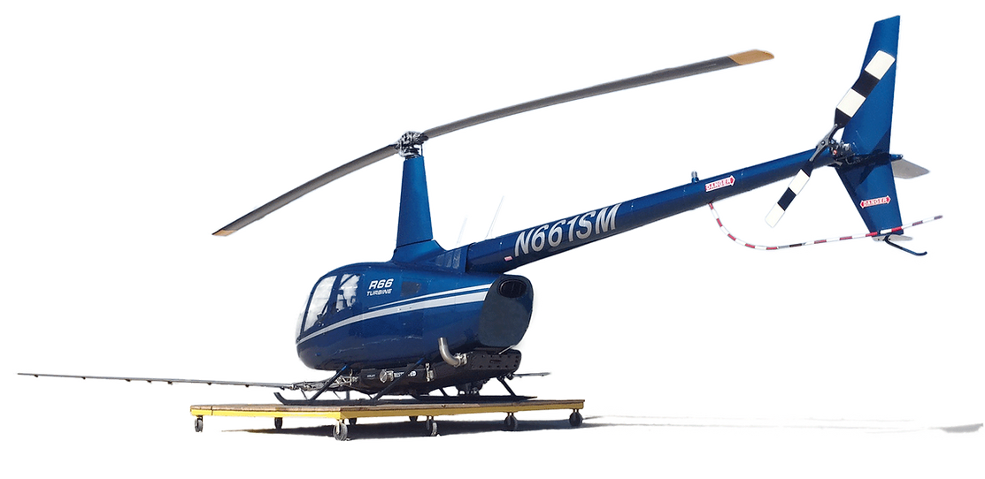 Robinson R66 Helicopter with R66 Spray System